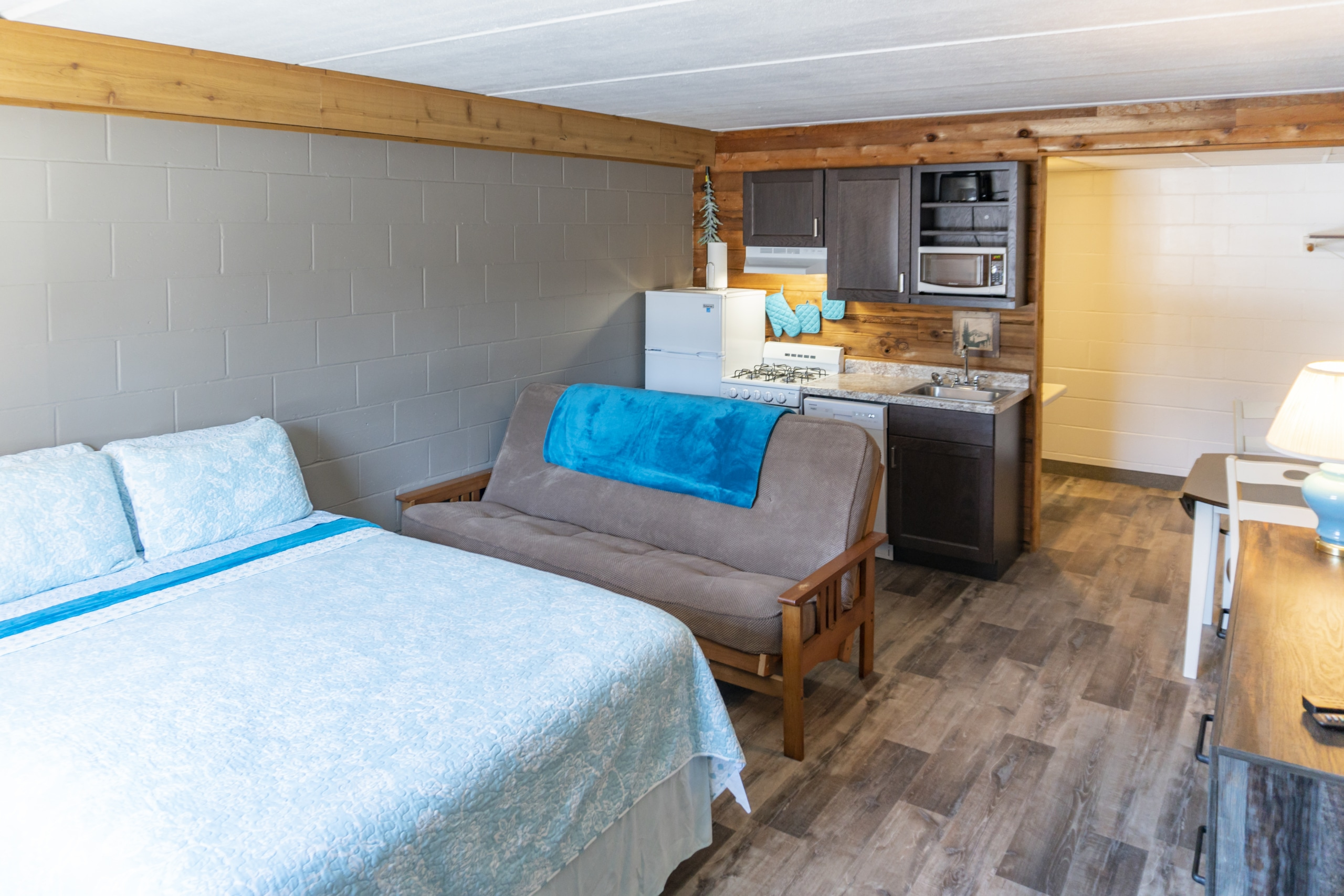 Motel Room with Kitchenette
